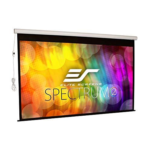 Elite Screens (エリートスクリーン) 電動プロジェクタースクリーン スペクトラム2 120インチ(16:9) 12イン...