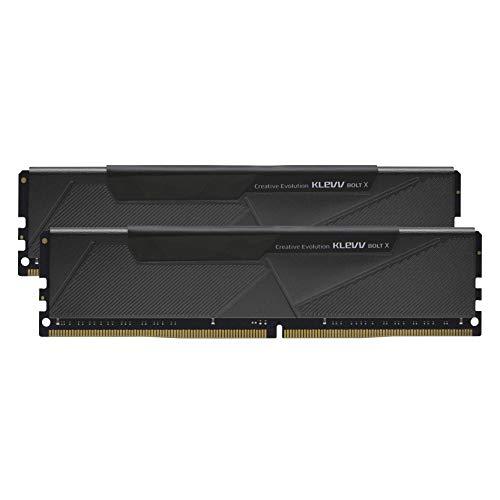 エッセンコアクレブ KLEVV デスクトップPC用ゲーミング メモリ PC4-28800 DDR4 3600MHz 16GB x 2枚 288pin ...