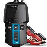 Car Battery Tester 12V Load Tester, TOPDON BT100 100-2000 CCA Automotive Alternator Tester Digital...