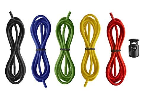 Arena Racing Goggles Strap, Kit di Cinturini per Occhialini da Gara Unisex Adulto, Multicolore (Multicolour), Taglia Unica