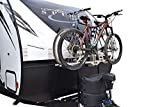 Futura GP RV Bike Rack for Travel Trailer Tongue A-Frame Bike Rack Bike Hitch Mount Rack (2-Inch Reicever)