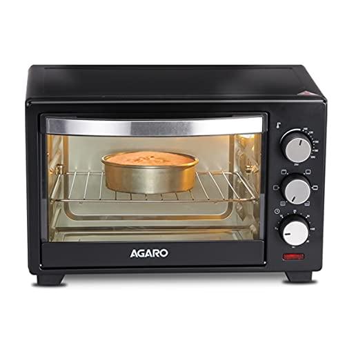AGARO Marvel 19 Liters Oven Toaster Griller, Motorised Rotisserie Cake Baking OTG with 5 Heating...