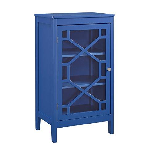 Linon Cabinet, Blue