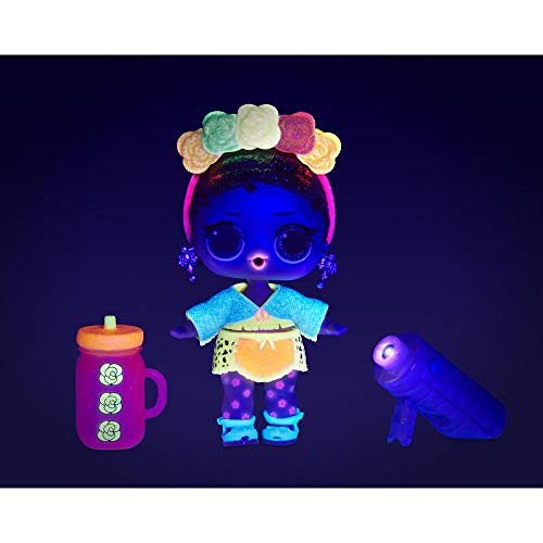 Image 9 - LOL Surprise Poupées de mode à collectionner - Avec 8 surprises, Modes & Accessoires - révélation de lumière noire comprise- Poupée Pailletée Lights