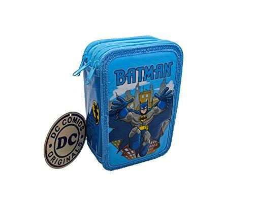 Portapastelli 3 Cerniere Astuccio Batman Scuola 42 Pezzi Giotto Fair