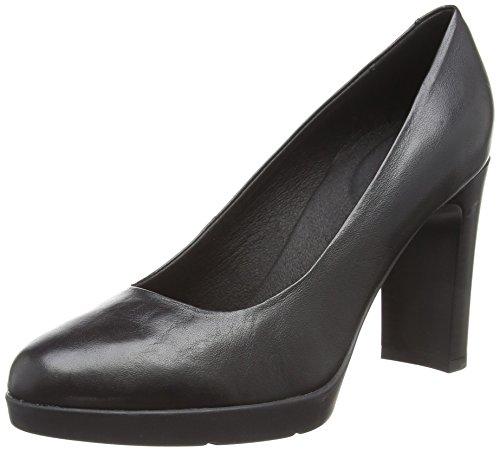 Geox D Annya High A, Escarpins Femme, Noir (Black C9999), 37.5 EU