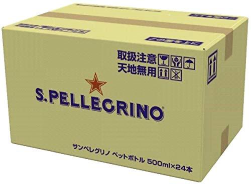 サンペレグリノ(S.PELLEGRINO) 炭酸入りナチュラルミネラルウォーター PET 500ml×24本[直輸入品]