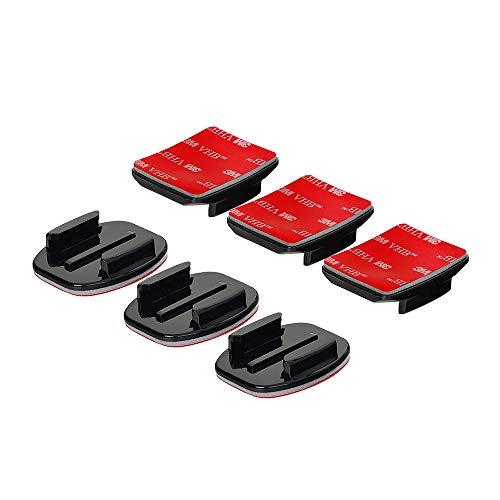 GoPro Supporti adesivi curvi + supporti adesivi piatti