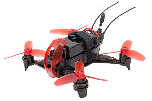 Walkera 15004100FPV Quadrirotore Rodeo Racing 110RTFFPVDrone con Telecamera HD, Batteria, Caricabatterie e Telecomando Devo 7