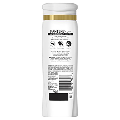 Pantene Pro-V Daily Moisture Renewal Shampoo and Conditioner Bundle (Packaging May Vary) 2