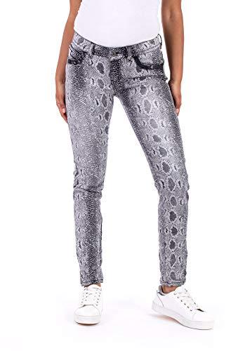 Blue Monkey Jeans, Laura, BM-10300, Snake Print, Pocket Details...