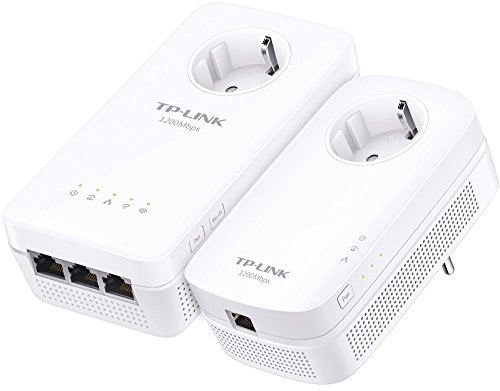 TP-Link TL-WPA8630P KIT AV1200 Powerline Passthrough, Wi-Fi Dual Band AC1200 2*2 MIMO