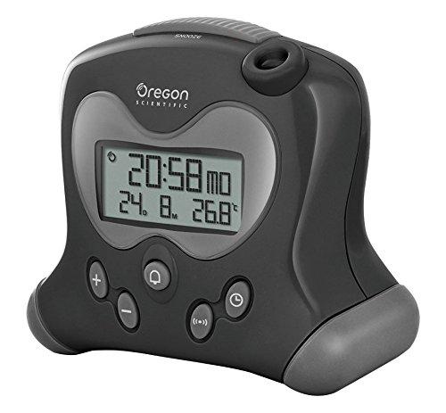 Oregon Scientific RM313PNF Orologio con Termometro con Proiezione, Nera