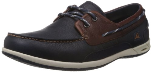 Clarks Orson Harbour, Zapatos de Cordones Derby Hombre, Multicolor (Multicolour Leather-), 47 EU