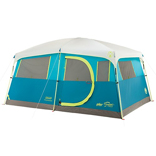 Coleman Tenaya Lake 8 Person Fast Pitch Instant Cabin Camping...