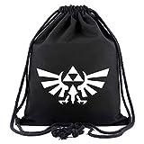 Cosstars The Legend of Zelda Juego Mochila de Cuerda Bolsas de Gimnasia Deporte Gymsack Sackpack Nuevo 2