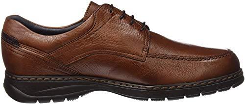 Fluchos Crono, Zapatos de Cordones Derby para Hombre, Marrón (Libano), 40 EU