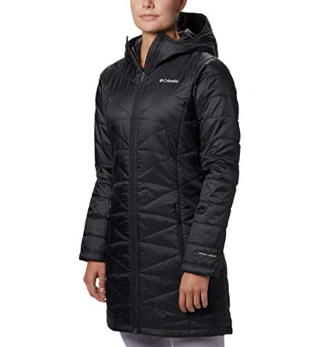 Columbia Women's Mighty Lite Hooded Jacket, Black, Small