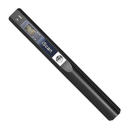 Aibecy scanner portatile, penna scanner testo, a mano senza fili Scanner A4 Formato 900DPI JPG / PDF Display LCD formato con busta protettiva per documenti aziendali Reciepts Libri Immagini