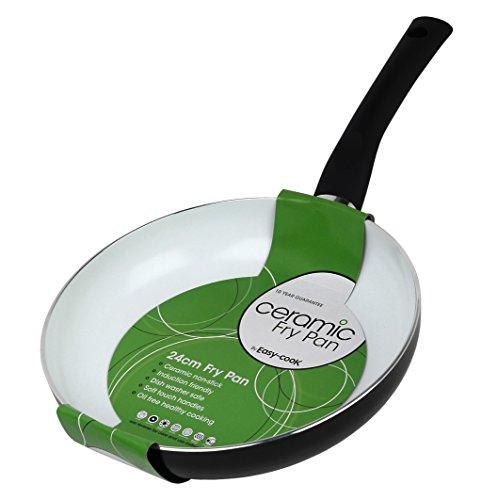 Easy Cook - Padella in Ceramica, 20 cm, 24 cm
