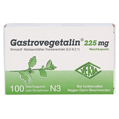 Gastrovegetalin 225 mg, 100 St. Weichkapseln