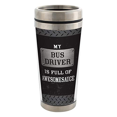Elanze Designs My Bus Driver Is Full of Awesomesauce Black...