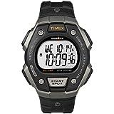 Timex Men's Ironman Classic 30 Full-Size Quartz Running Watch with Resin Strap, Black, 18 (Model:...