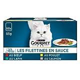 GOURMET - Les Filettines en Sauce : Bœuf, Poulet, Lapin, Saumon...