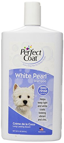 Perfect Coat White Pearl Shampoo For Dogs, Coconut...