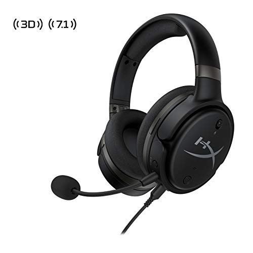 HyperX Cloud Orbit-Gaming Headset, 3D Audio, for PC, Xbox One, PS4, Mac, Mobile,Nintendo Switch,Planar Magnetic headphones with Detachable Noise Cancelling Microphone,Pop Filter, Black (HX-HSCO-GM/WW)