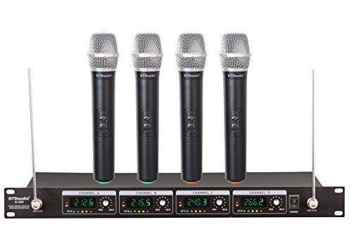 GTD Audio G-380H VHF Wireless Microphone System...