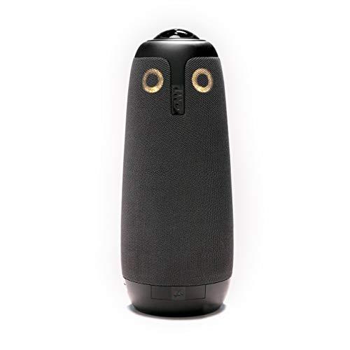 Meeting Owl – 360-Grad-Videokonferenzkamera, Mikrofon und Lautsprecher (automatischer Lautsprecherfokus, perfekt für Huddle Rooms)