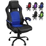 Chaise de Bureau Ergonomique Fauteuil de Bureau Dossier Inclinable Chaise...