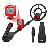 Avid Power Metal Detector for Kids Waterproof Juniors Treasure Hunting Adjustable Metal Detectors with LCD Display and Carrying Bag