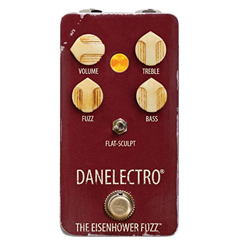 Danelectro The Eisenhower Fuzz Octave Electric Guitar Effects Pedal