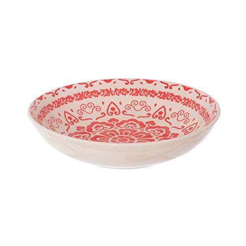 Piatto fondo Capri Rosso in stoneware, da 20,3 cm Rosso