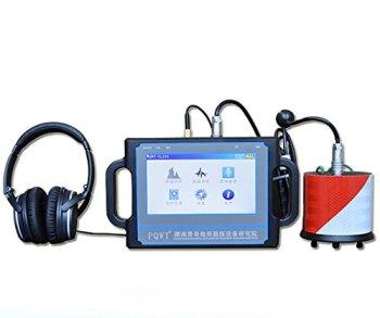 Détecteur de fuite d'eau souterraine de 2 mètres, capteur de fuite d'eau à ultrasons professionnel, détecteur de fuite d'eau