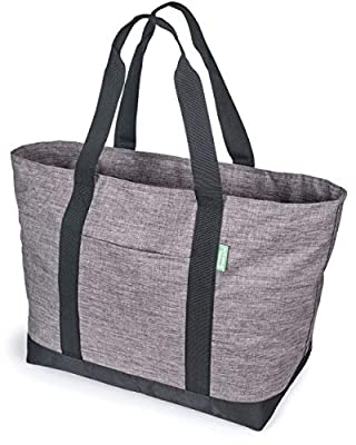 ✅ CARRY EVERYTHING YOU NEED IN SPACIOUS STYLE! This all-purpose weekender bag can hold all your work materials and easily organizes teacher or nursing supplies. It has an outside and inside pocket and is the perfect size for trips to the beach, groce...