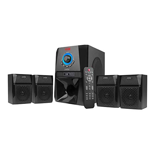 Artis MS 444 4.1 Ch Wireless Multimedia Speaker System with Fm/aux/USB Bluetooth Home Audio Speaker
