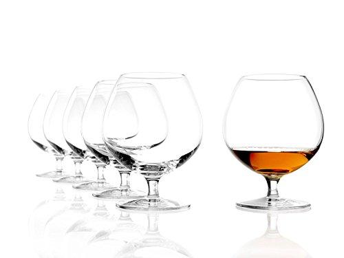 Bicchiere da cognac Stölzle Lausitz New York Bar da 585 ml, servizio da 6 bicchieri da cognac, lavabile in lavastoviglie, cristallo senza piombo, qualità pregiata