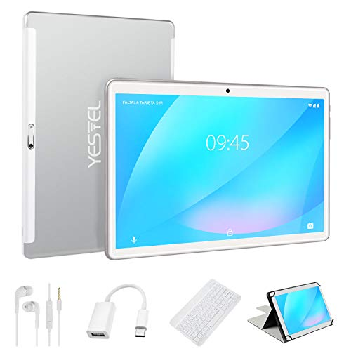 YESTEL X7 Tablet Android con Schermo IPS HD10 Pollici Android 8.1 Tablet PC 4 GB RAM + 64 GB ROM +...