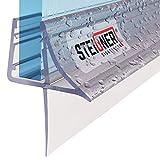 STEIGNER Joint de douche pour paroi en verre, 80cm, vitre 6/7/8mm, joint...