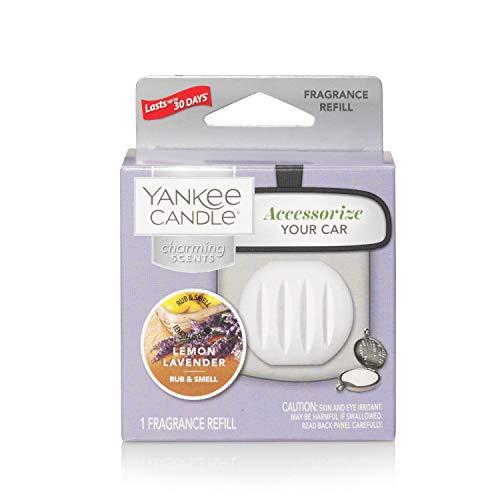 YANKEE CANDLE 5038581044439 Lemon Lavender Refill Charming profumatore per Auto, Multicolore, Unica