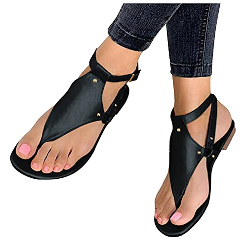 WINTOM Sandali Estate 2021 Ciabatte Donna Estive Eleganti Shoes Women Heels Low Heel Sandali Con Plateau E Tacco Donna Sandali Estivi Donna Bassi In Pelle