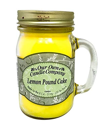 OUR OWN CANDLE CO. SICI-LP Candle Jar 100Hr Lemon Cake