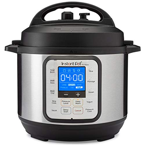 Instant Pot Duo Nova 7-in-1 Electric Pressure Cooker, Sterilizer, Slow Cooker, Rice Cooker, Steamer, Saute, Yogurt Maker, and Warmer, 3 Quart, Easy-Seal Lid, 12 One-Touch Programs
