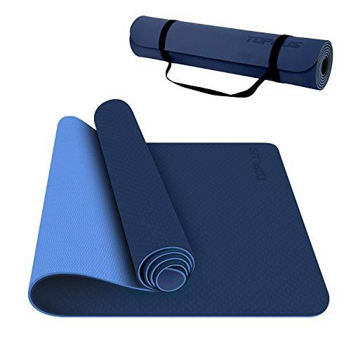 TOPLUS Yoga Mat - Classic 1/4 Inch Thick Pro Yoga Mat Eco...