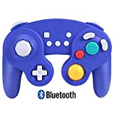 Exlene Wireless Gamecube Controller Switch, Compatible with Nintendo Switch and PC, Rechargeable, Motion Controls, Rumble, Turbo (Bluetooth Version)