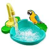 Conteneur de bain d'oiseaux Baignoire d'oiseaux Perruche...