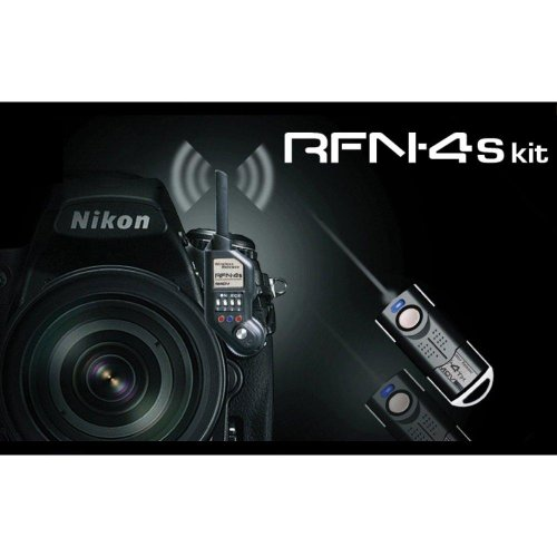 RFN-4s Wireless Remote Shutter Release for Nikon DSLR with MC30...